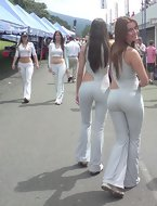 Come see the Good, the Bad, and the Unattractive massive ass shaking what her momma gave this girl. The pants are likewise casually worn by honeys in every day life! It's a ridiculously specific pictures dedicated to the gals who wear yoga pants!.
