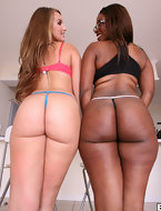 It later ends up with Preston and Mirko hosing these two fine ass big booty females down with cum. [10 ass pics]