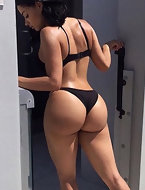 Ideal body, big booty, juicy cunt make your blood boil in his veins
