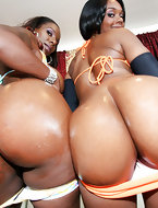 Fat black asses and dream about Ebony women and shaking their big asses in your face and on your cock