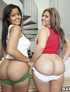 We gotta sick Assparade today with Kim Manhattan & Duvy. These two bradley's got crazy big ass. I'm talkin 40 inch plus style. [10 ass pics]