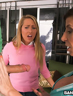 U ever fantasize about your girlfriend s step-mom sucking your dick. Especially when that babe s sexy like Sara Jay. I have! Carter Cruise and Peter are doing some home-work until Large Tit Sara Jay needed his help. Peter was helping change a light bulb when Sara grabbed his dick and poked in her mouth. Carter walked in pissed catching 'em in action, but decided to join in on the fucn. Peter is one fortunate boy-friend. This guy ended up fucking both of them. Come and see this sweet update. Enjoy! [12 ass pics]