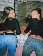 Juiciest rumps u have ever seen. We are not talking about tight we are talkin about hot bubble butt hotties with perfect bodies and a nice ass! Giant butt sluts are fooling around, posing and teasing with their biggest round rumps