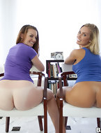 Nicole Aniston and Poison Ivy. Both of these big booty babes love them some cock. [10 ass pics]
